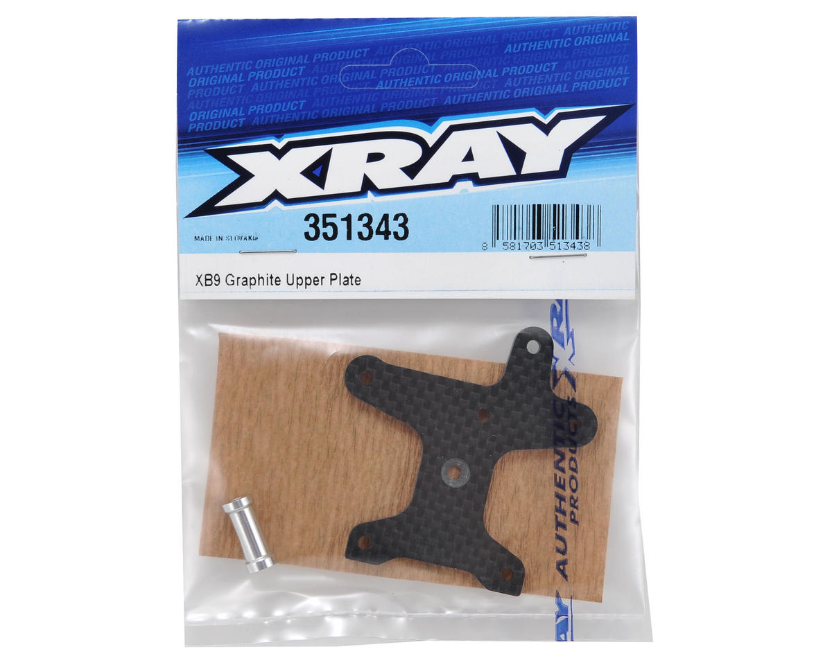 XRAY Carbon Fiber Upper Plate w/Aluminum Stand