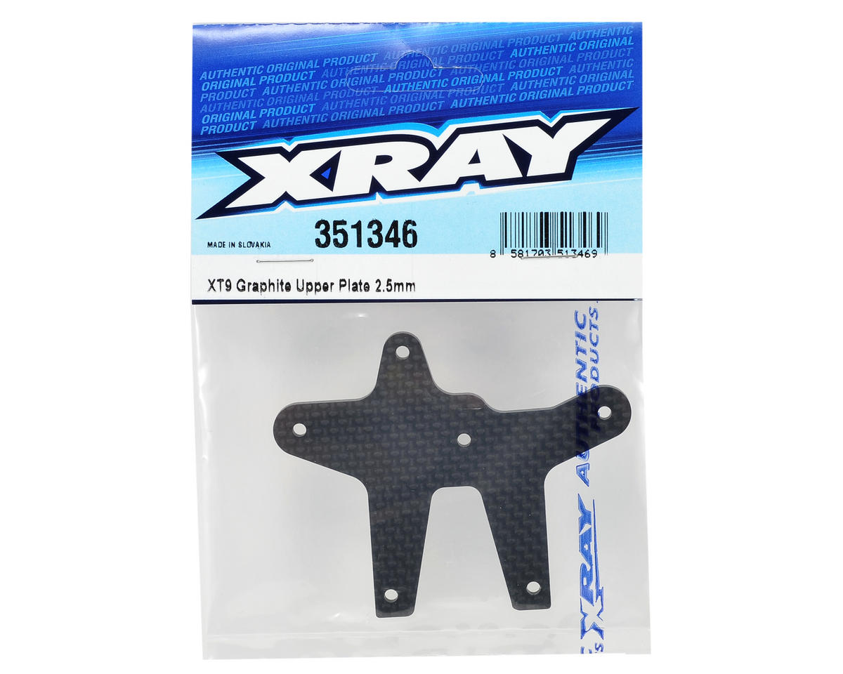 XRAY 2.5mm Graphite Upper Plate