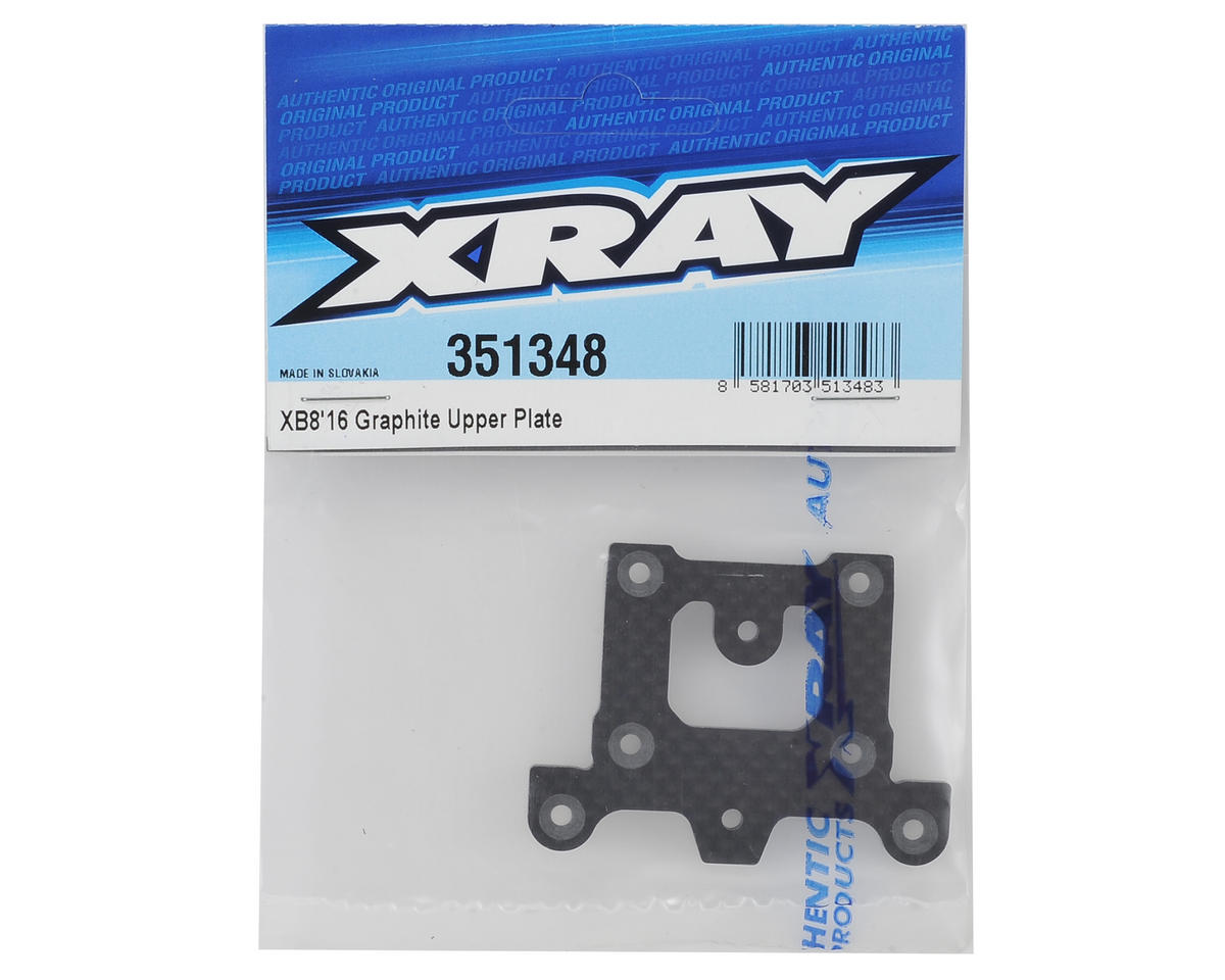 Image 2 for XRAY XB8 2016 Graphite Upper Plate
