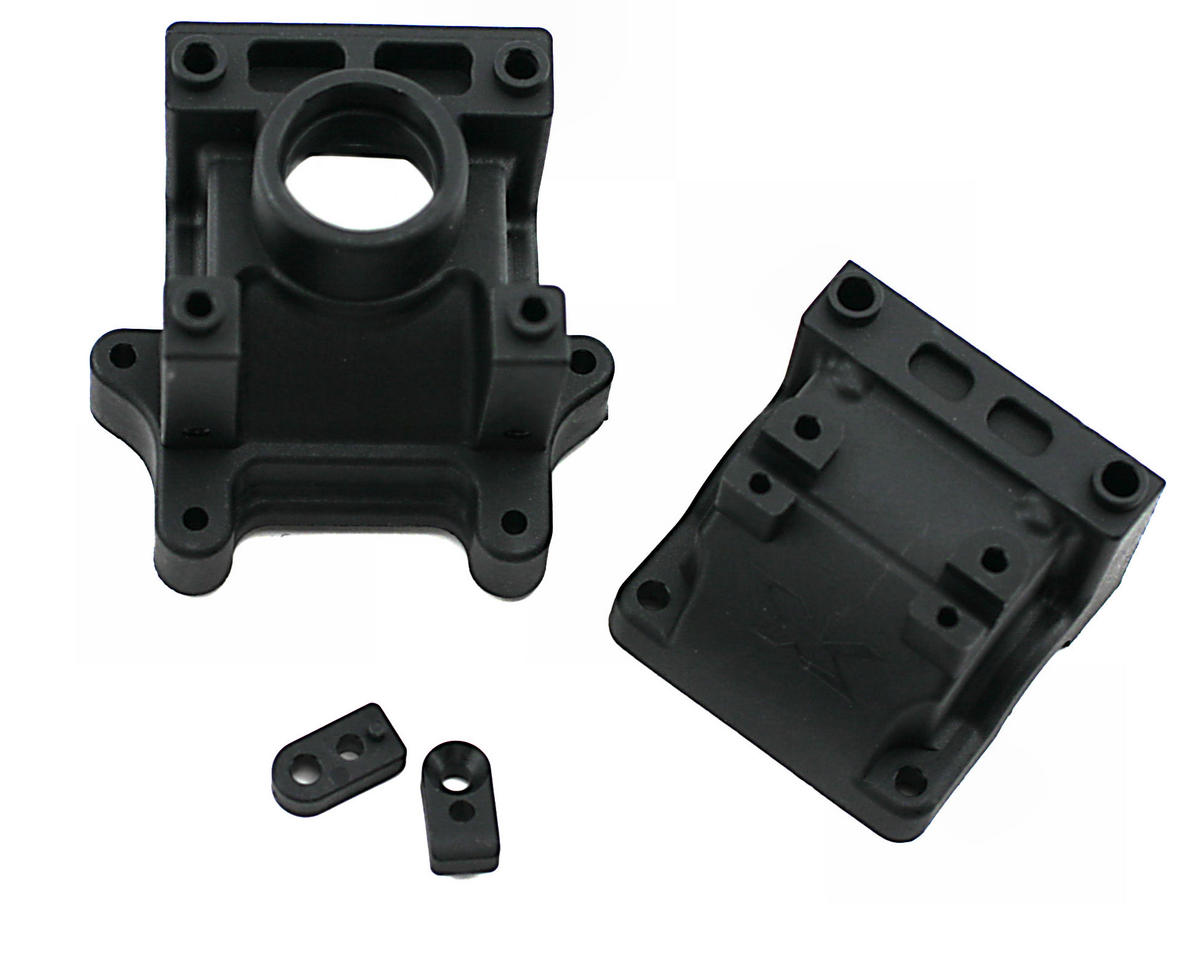 Differential Bulkhead Block Set (Front) by XRAY