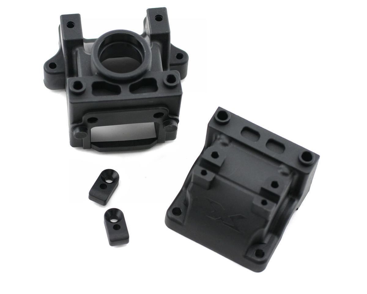 Differential Bulkhead Block Set (Rear) by XRAY