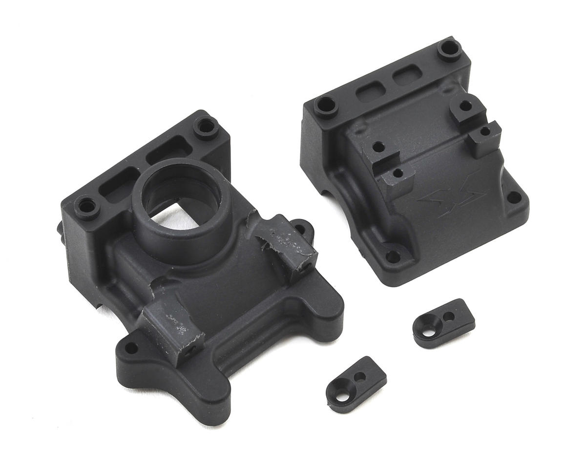 XB8 2016 Front/Rear Bulkhead Block Set by XRAY