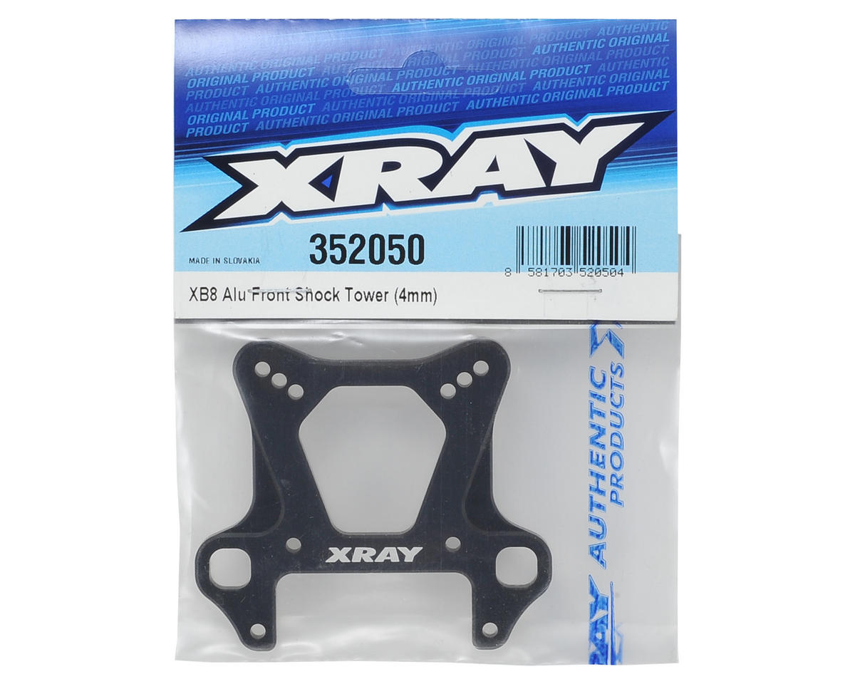 XRAY 4mm Aluminum XB8 Front Shock Tower