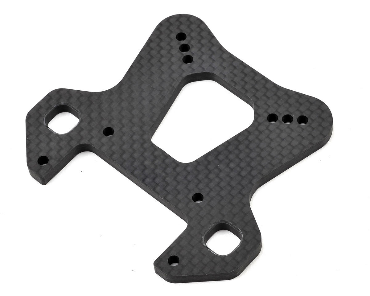 XB8 Graphite Front Shock Tower (4mm) by XRAY