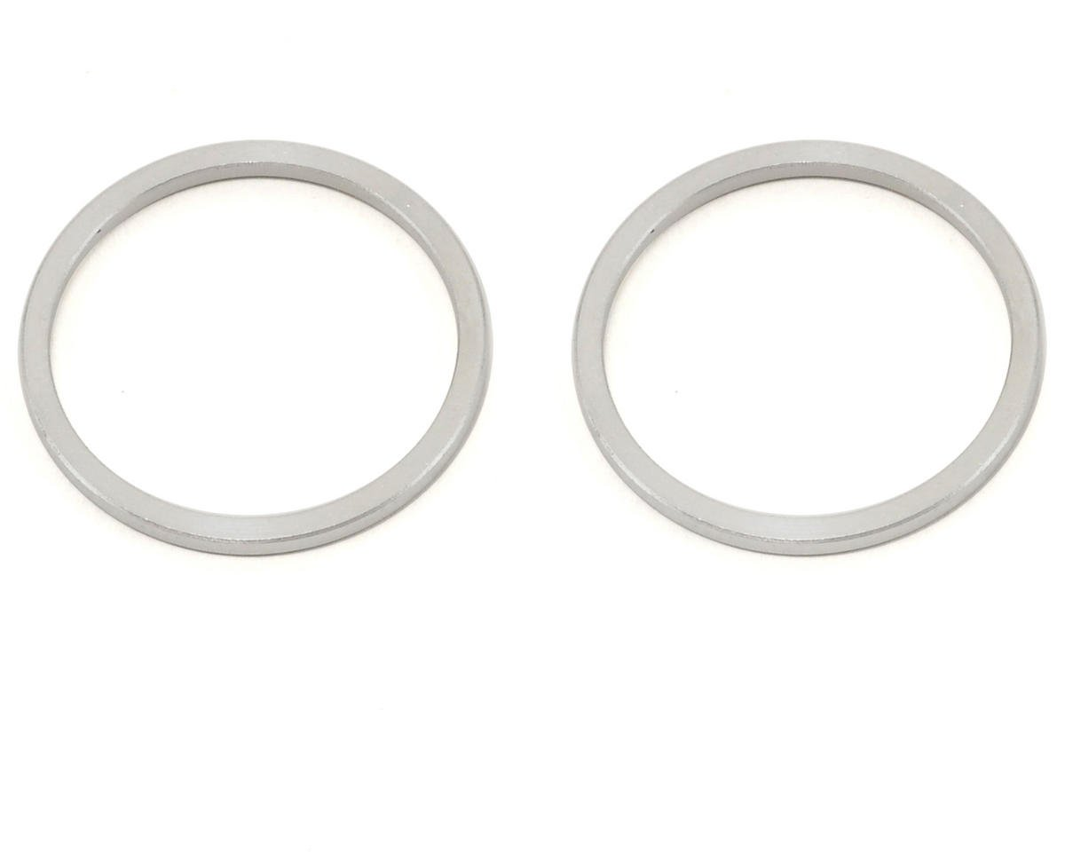 XRAY XB808 Aluminum 3-Bearing Differential Collar Set (2) (2010 Spec)