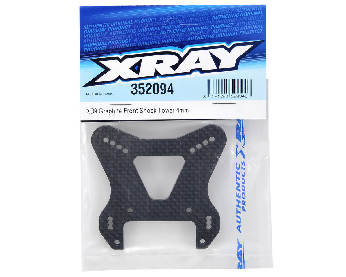 XRAY 4mm Graphite Front Shock Tower