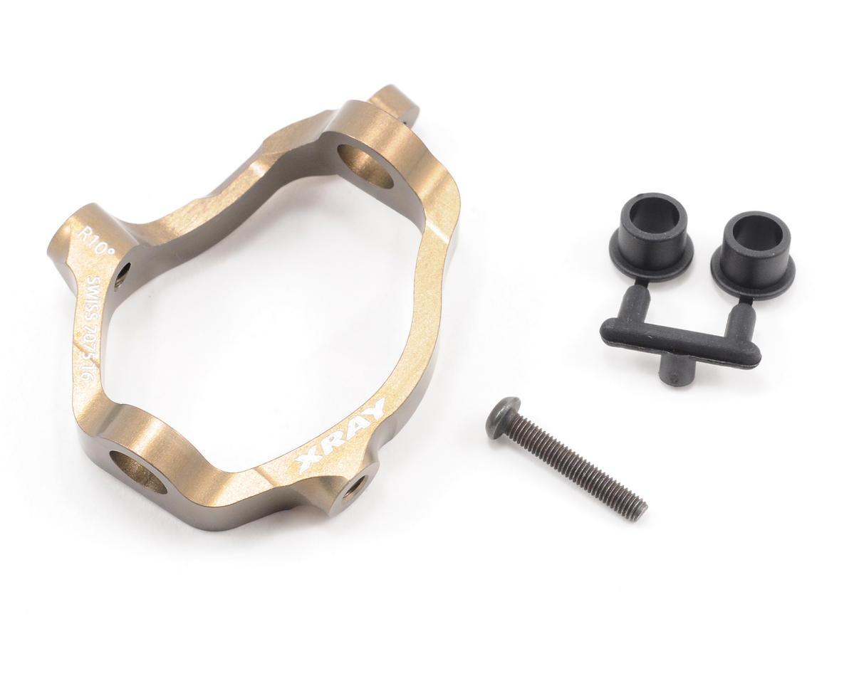 XRAY 10° Hard Coated 7075 T6 Aluminum Right Caster Block