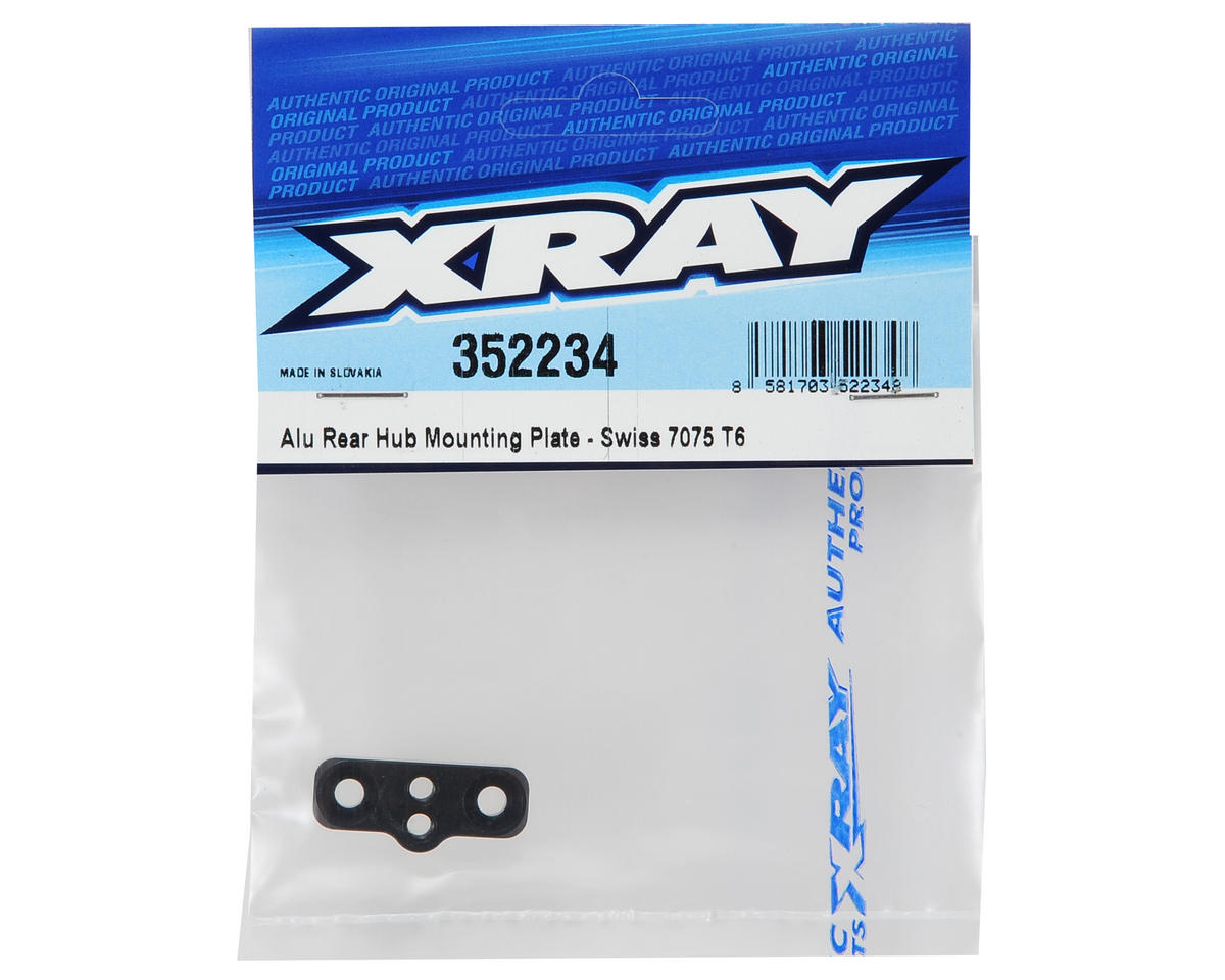 XRAY XB8 Aluminum Rear Hub Mounting Plate