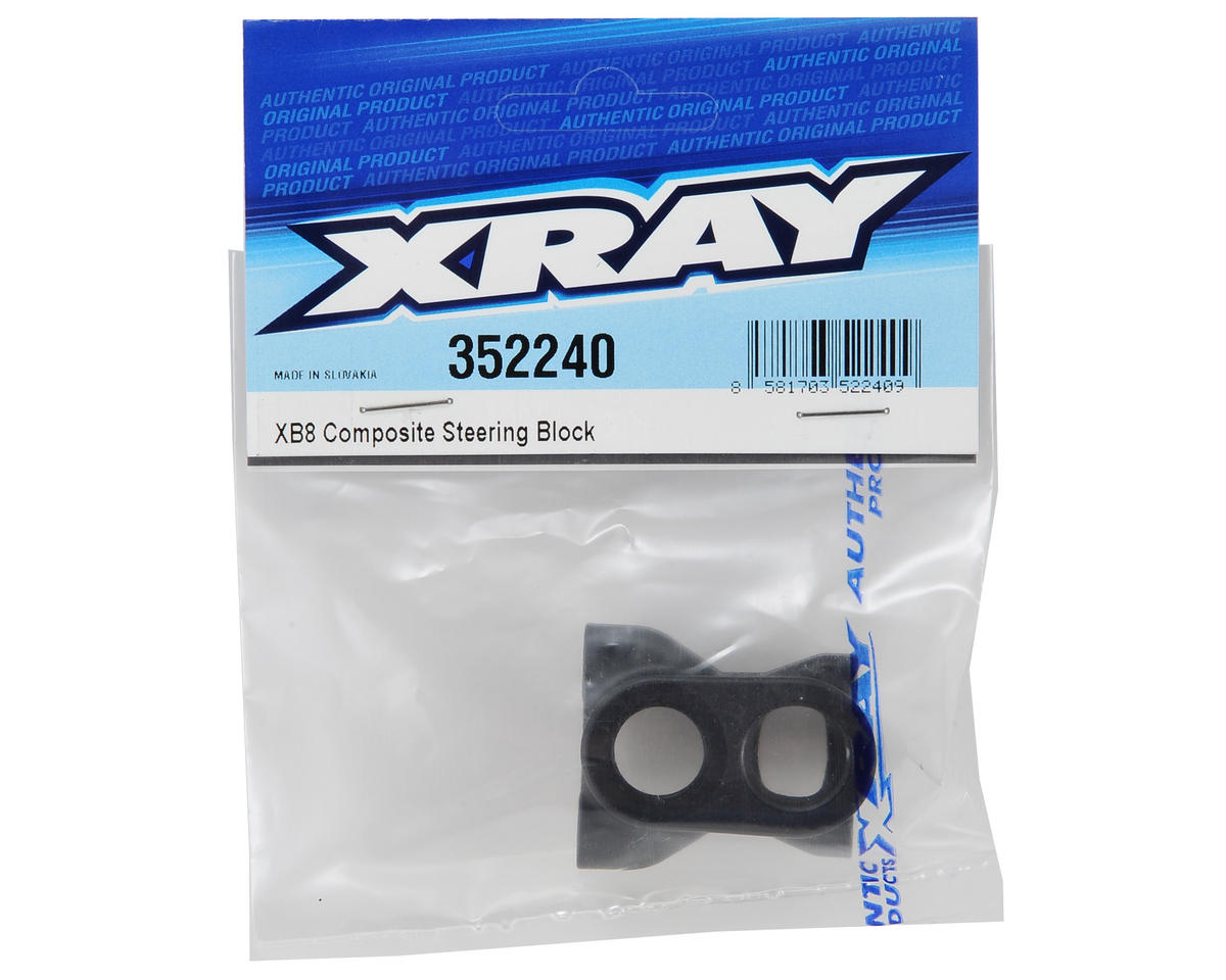 XRAY XB8 Steering Block