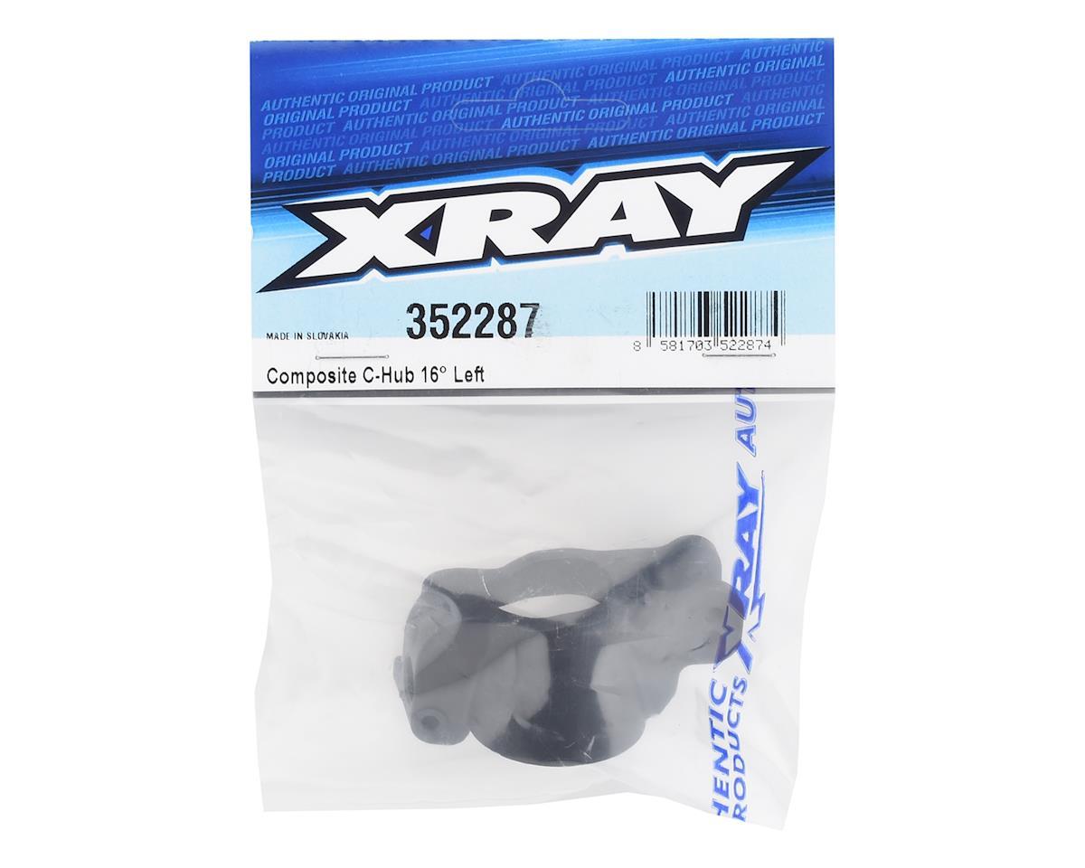 XRAY 16° Composite Steering C-Hub (Left)
