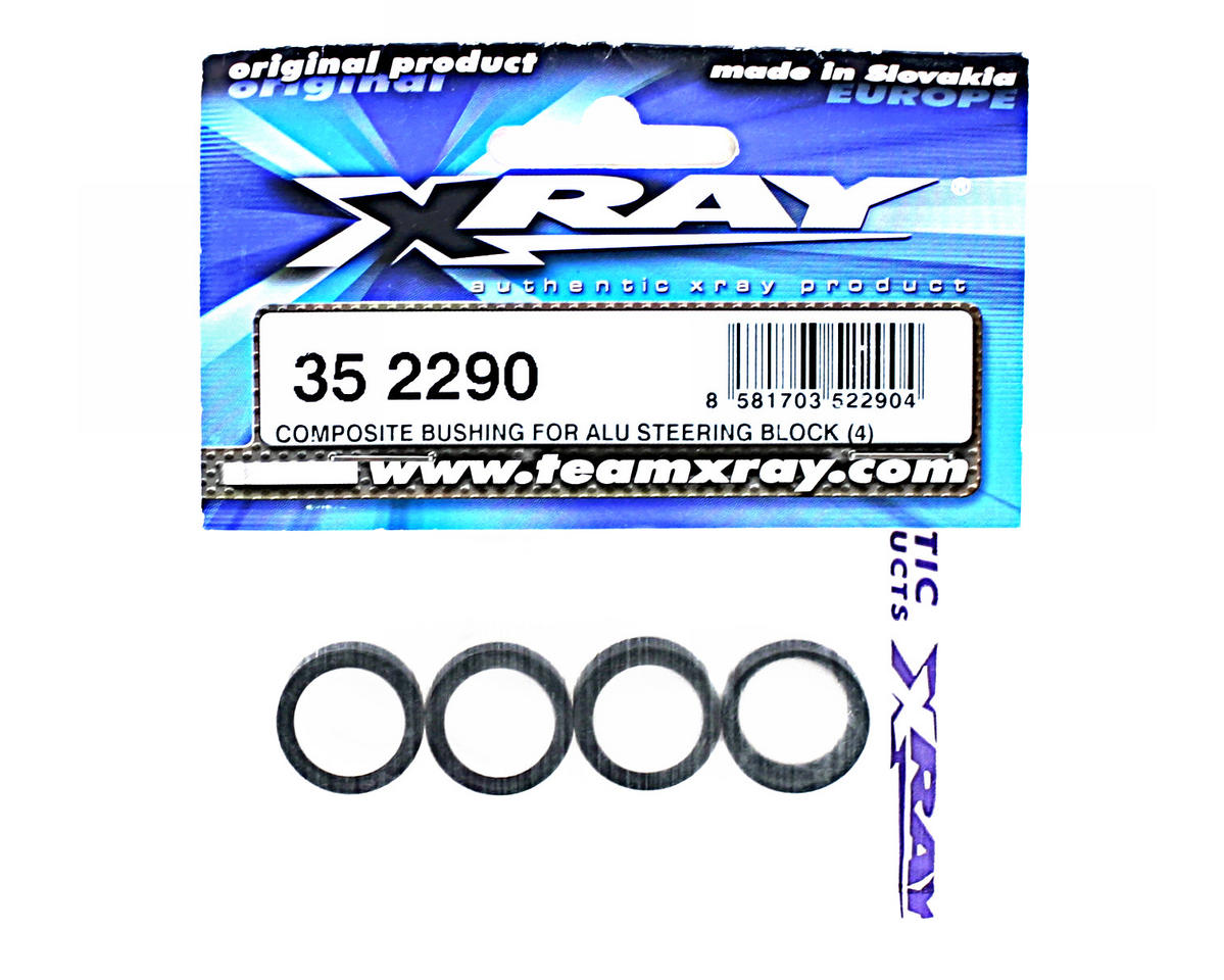 XRAY Composite Bushing For Aluminum Steering Block (4)