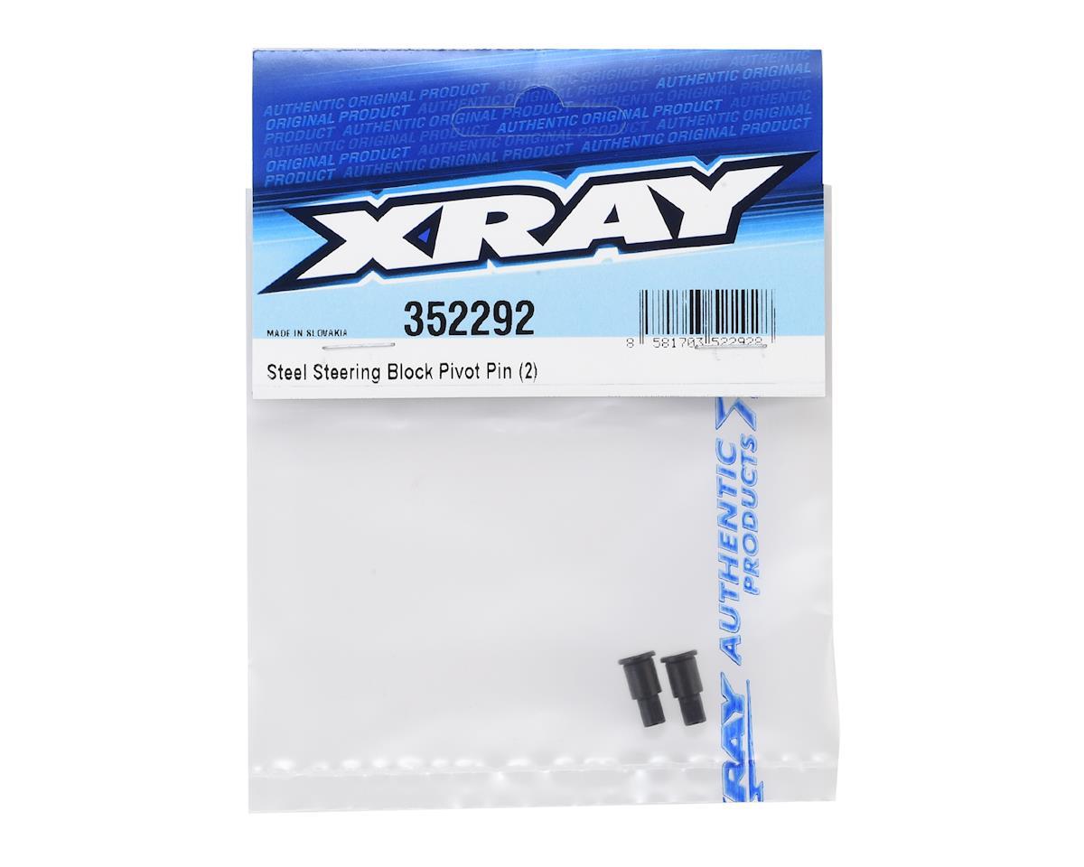 XRAY Steel Steering Block Pivot Pin (2)