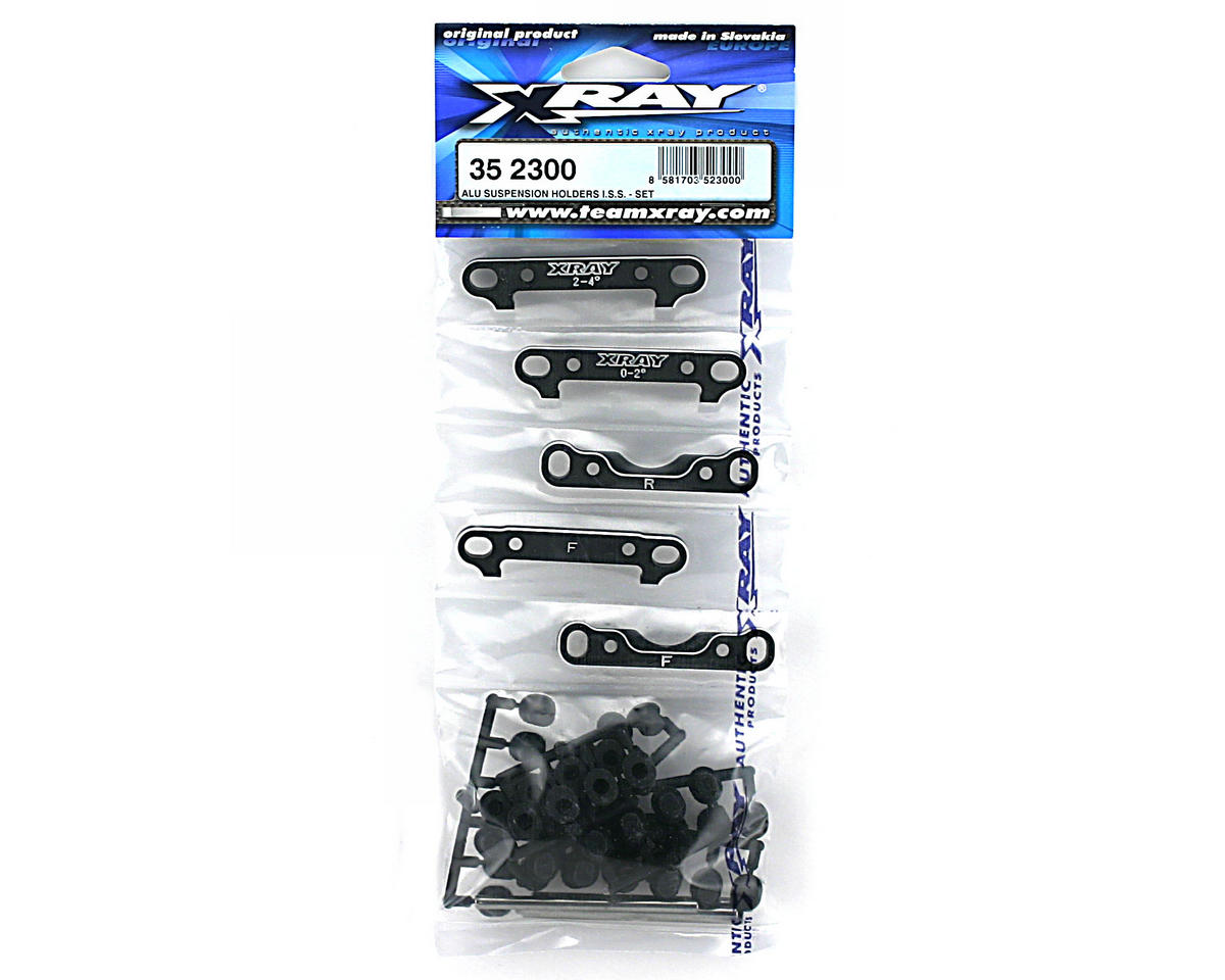 XRAY Aluminum Suspension Holders I.S.S. - Set