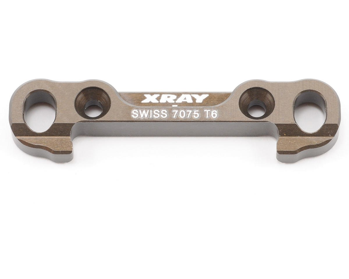 XRAY 7mm Hard Coated 7075 T6 Aluminum Front Lower Suspension Holder