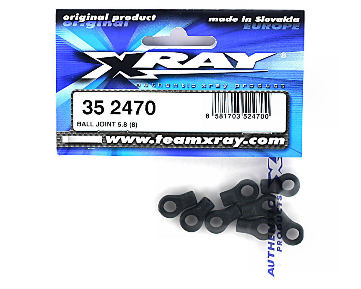 Ball Joint 5.8 (8) by XRAY