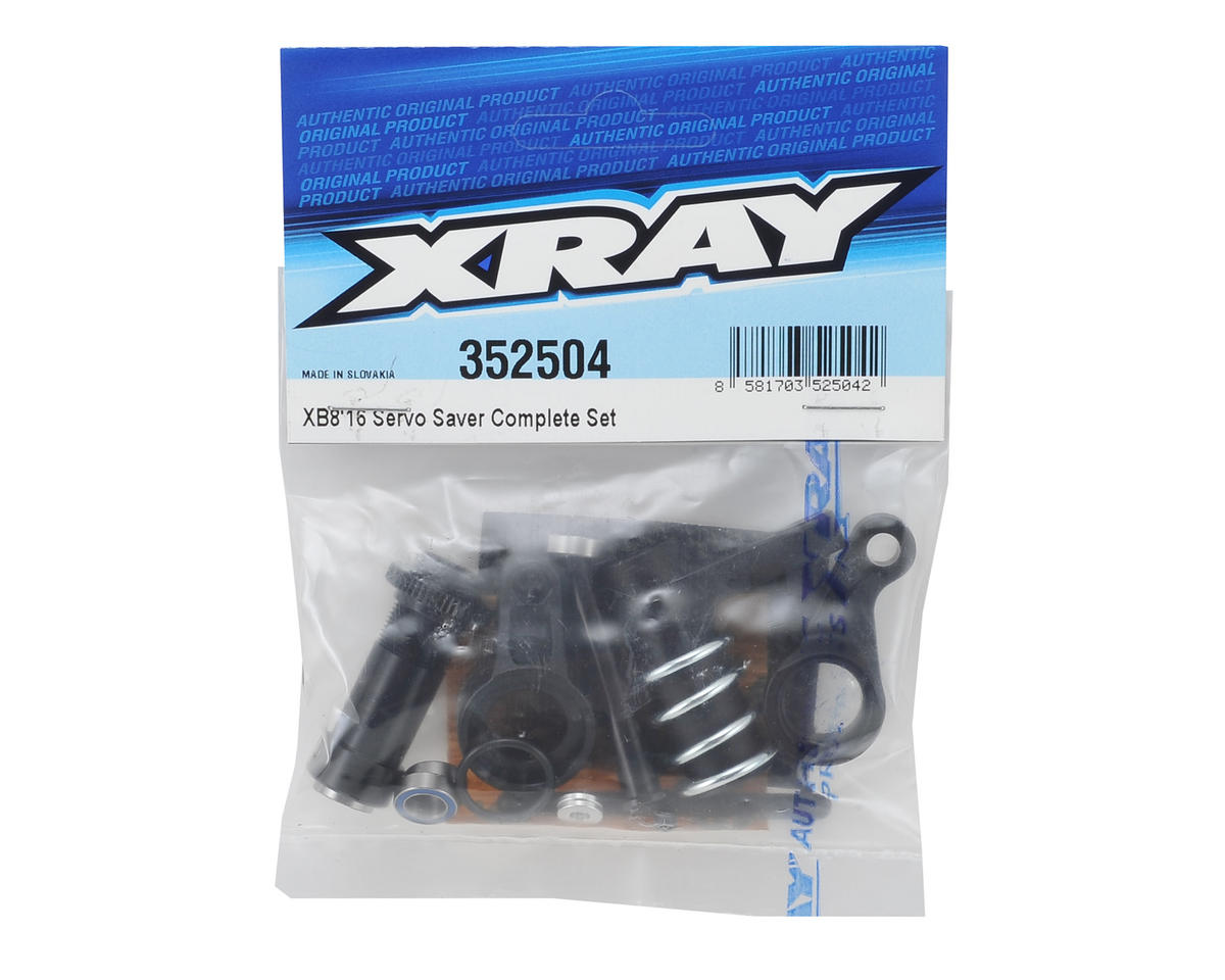 XRAY XB8 2016 Complete Servo Saver Set