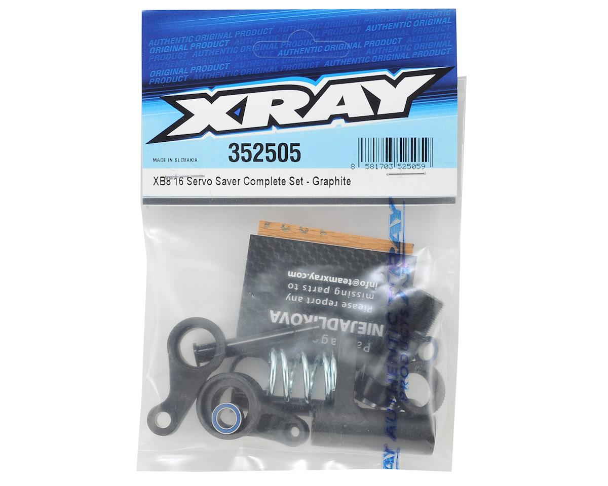 XB8 Graphite Servo Saver Set by XRAY