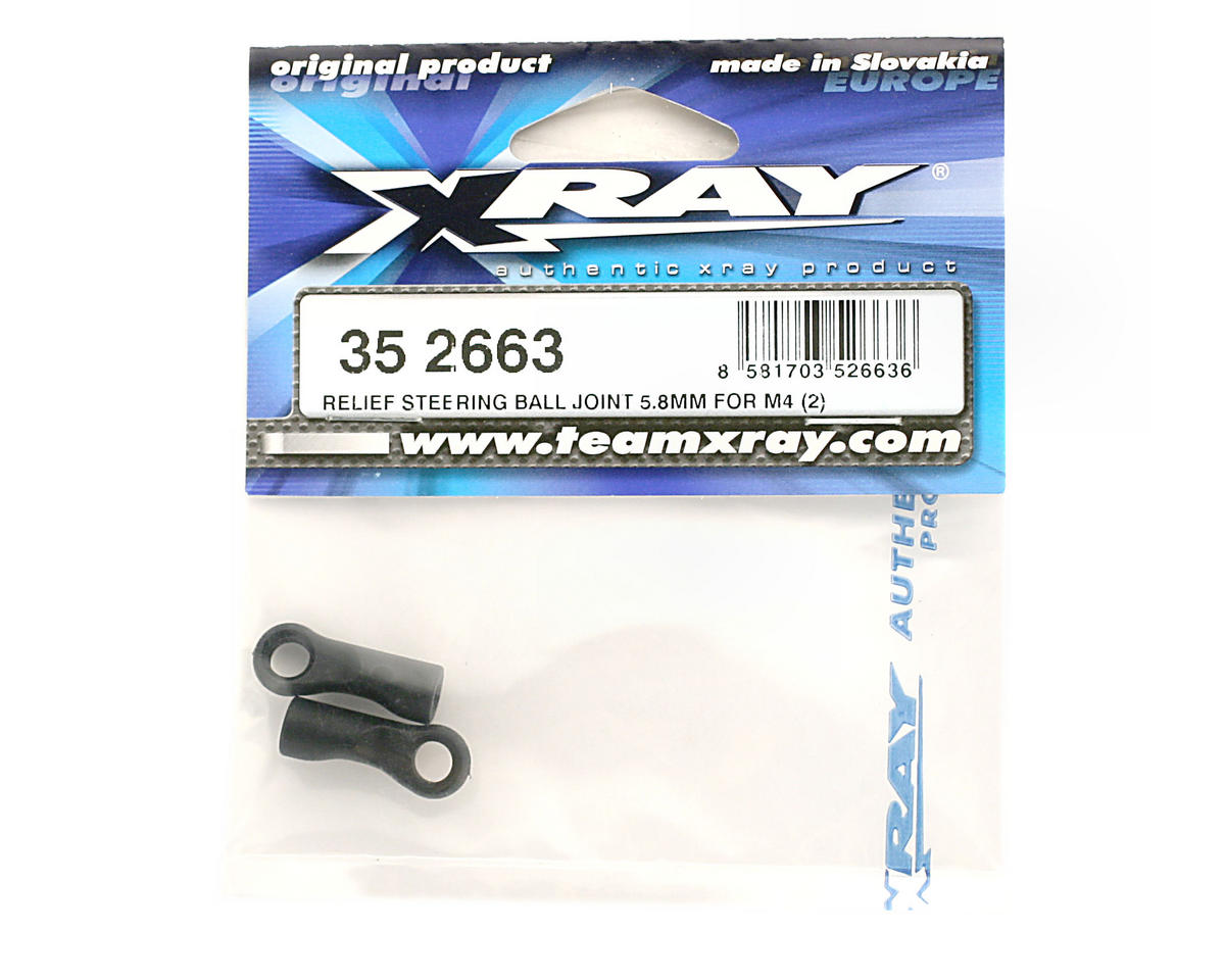 XRAY Relief Steering Ball Joint 5.8mm For M4 (XT8) (2)