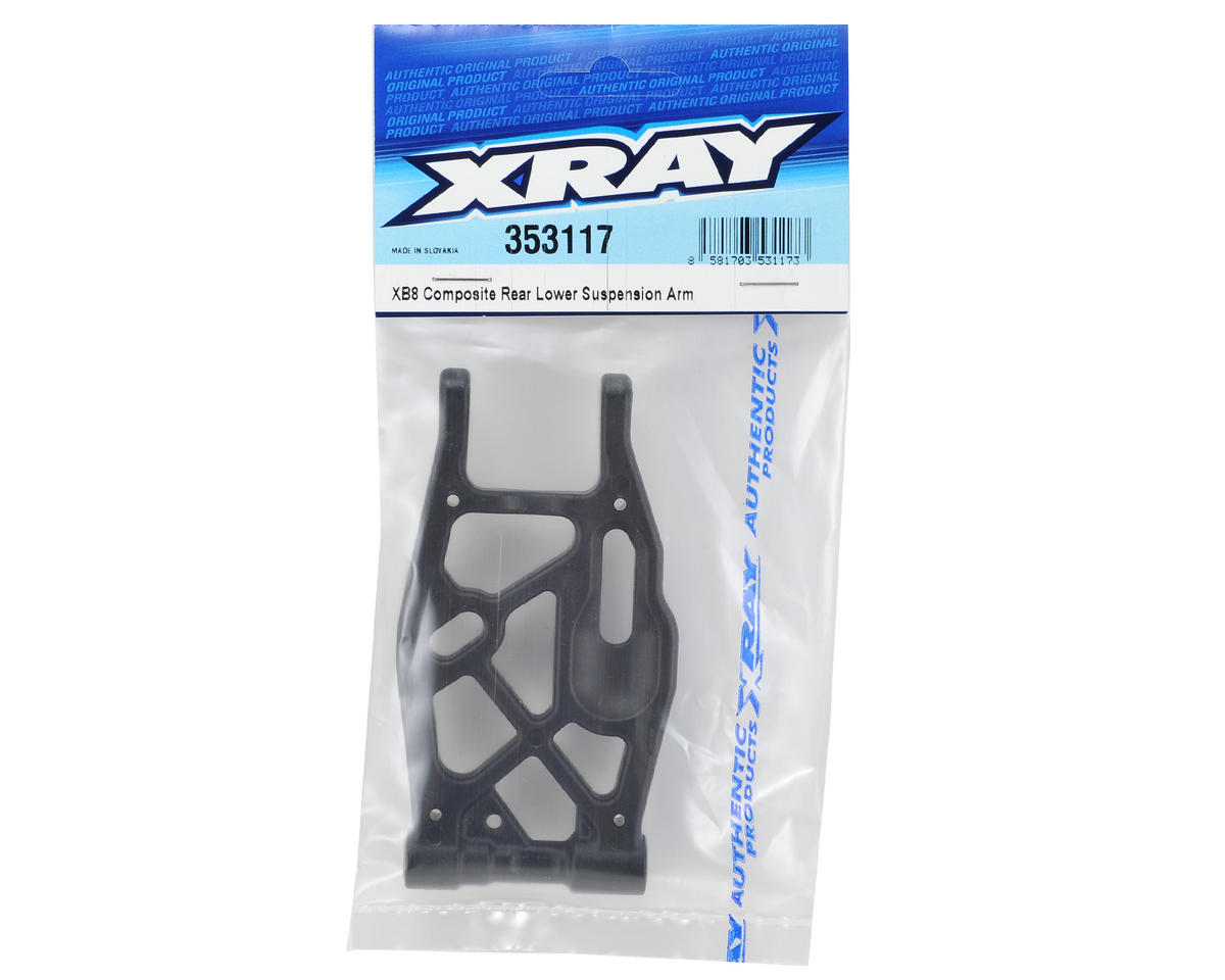 XRAY XB8 Composite Rear Lower Suspension Arm