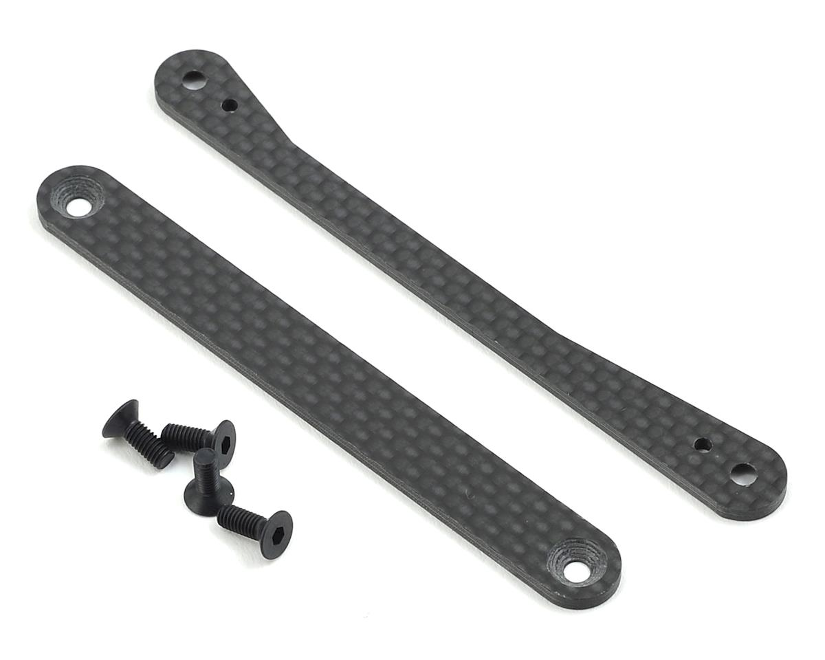 XRAY XB8 Chassis Side Guards Graphite Brace Set
