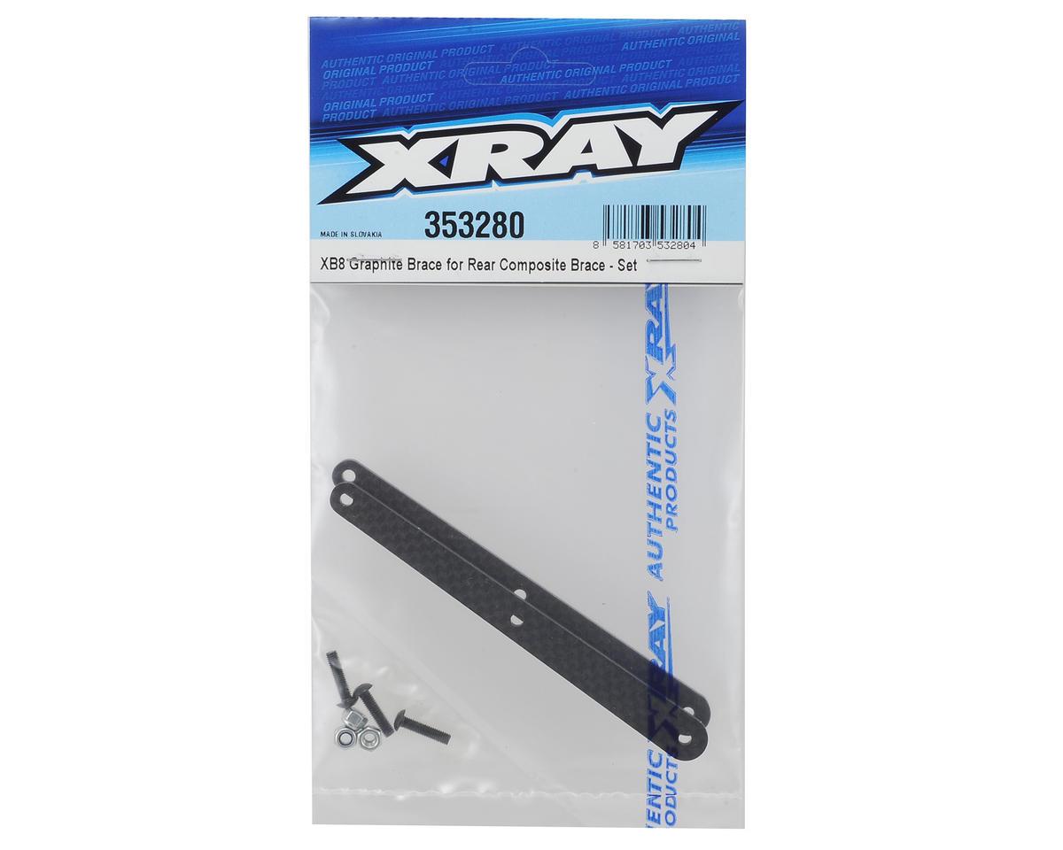 XRAY XB8 2016 Graphite Brace Set