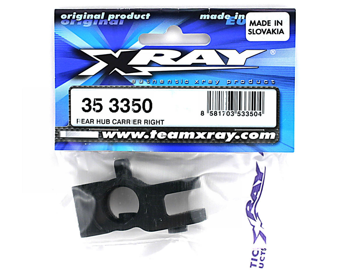 XRAY Rear Hub Carrier Right