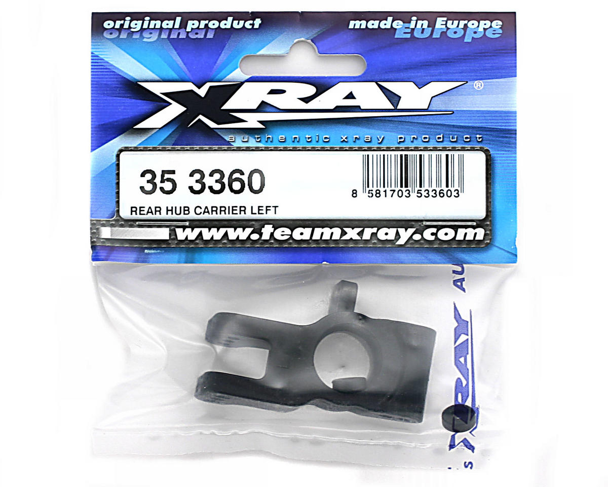 XRAY Rear Hub Carrier Left