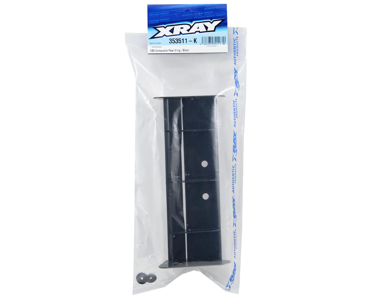 XRAY 1/8 Buggy Wing (Black) (XB9)