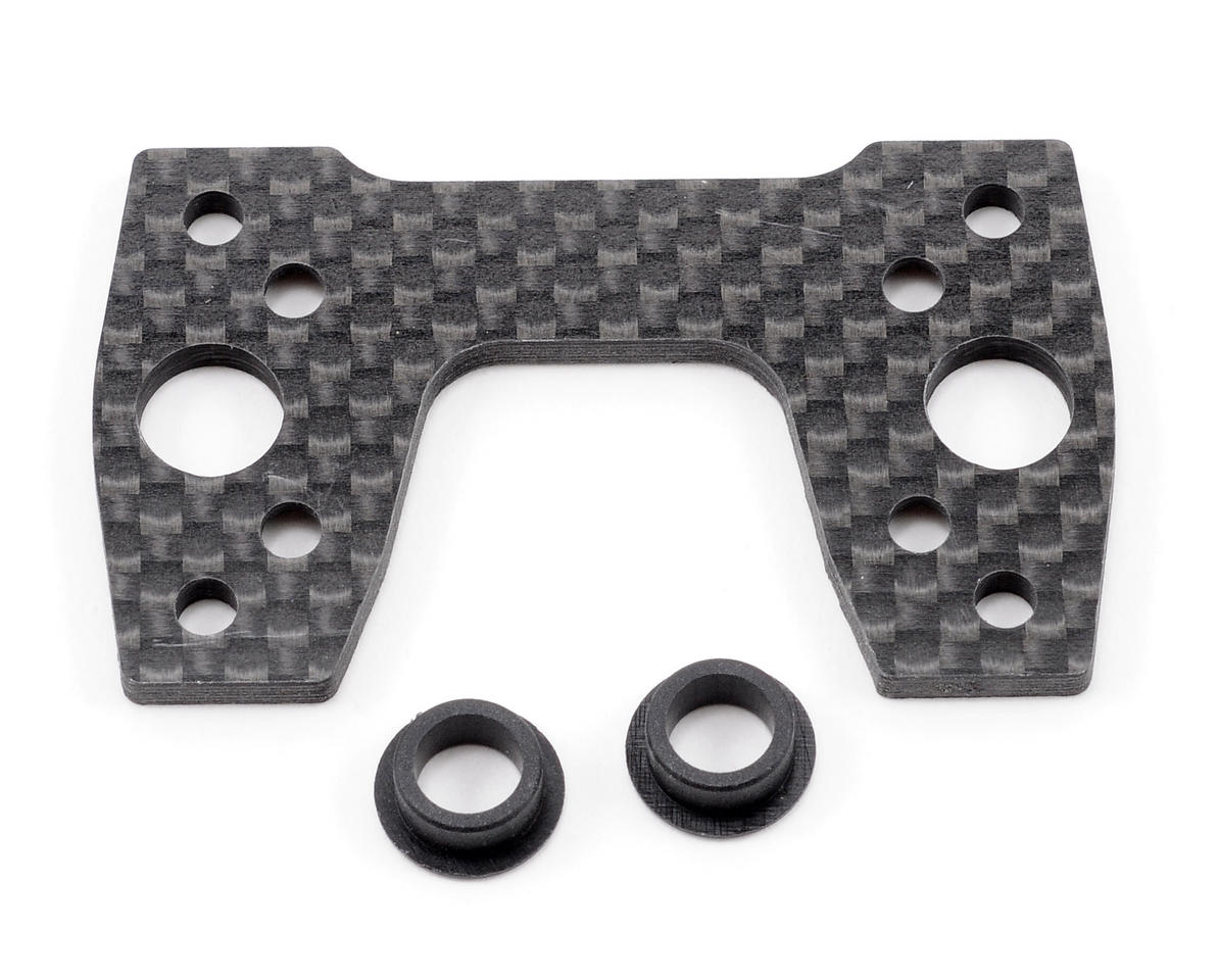 Graphite Center Differential Mounting Plate (XB808) by XRAY