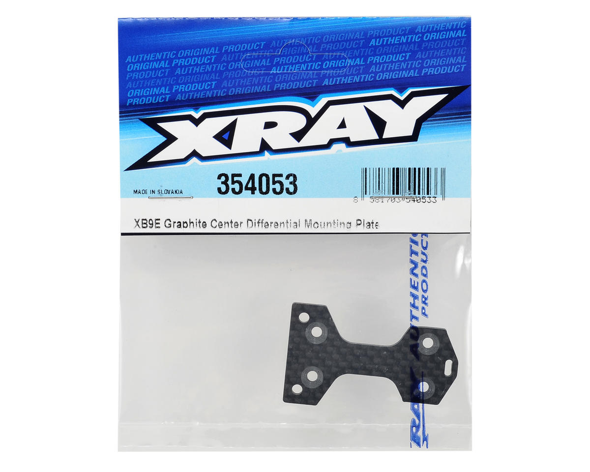 XRAY 2.0mm Graphite Center Differential Mounting Plate