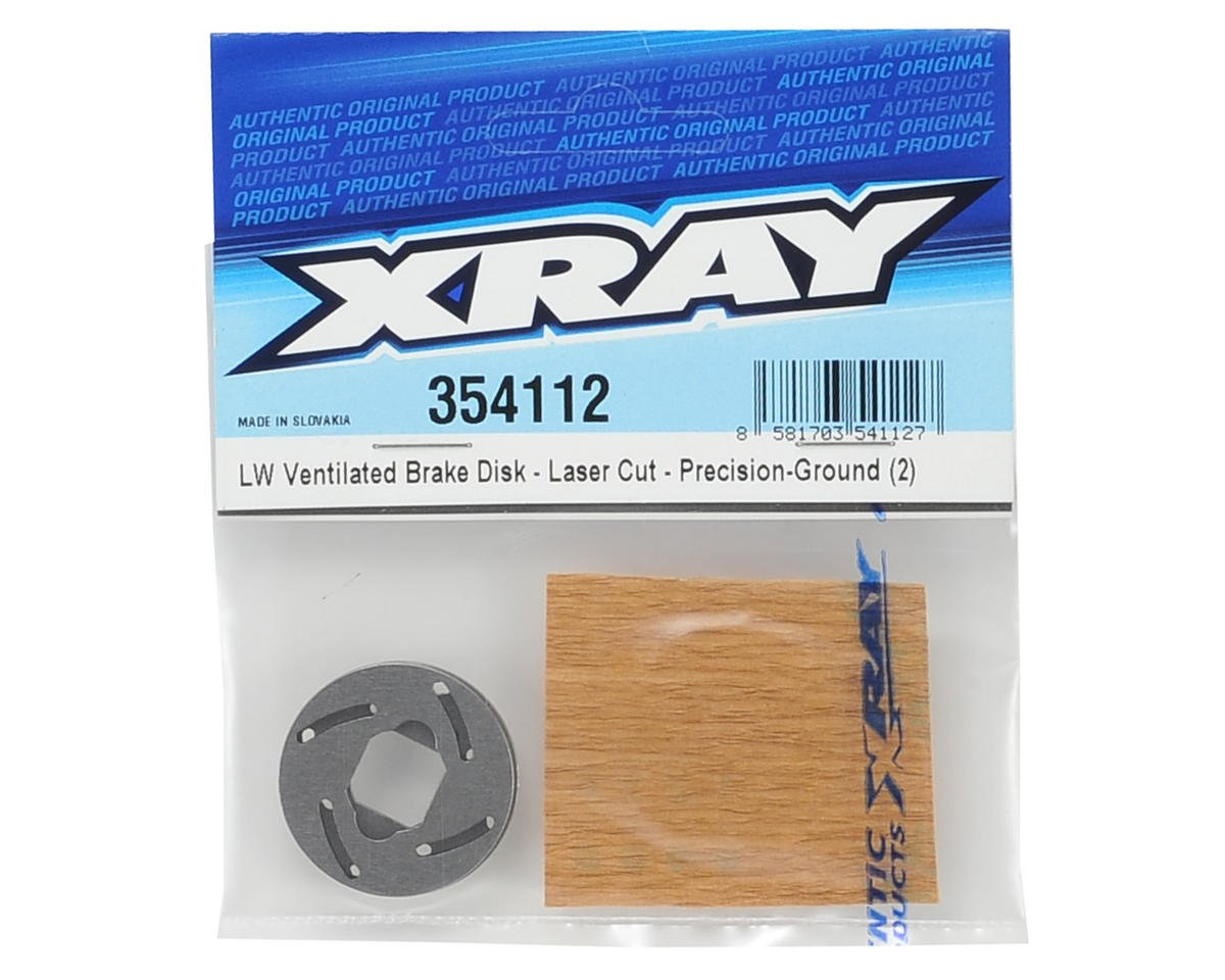 XRAY Lightweight Ventilated Brake Disk (2)