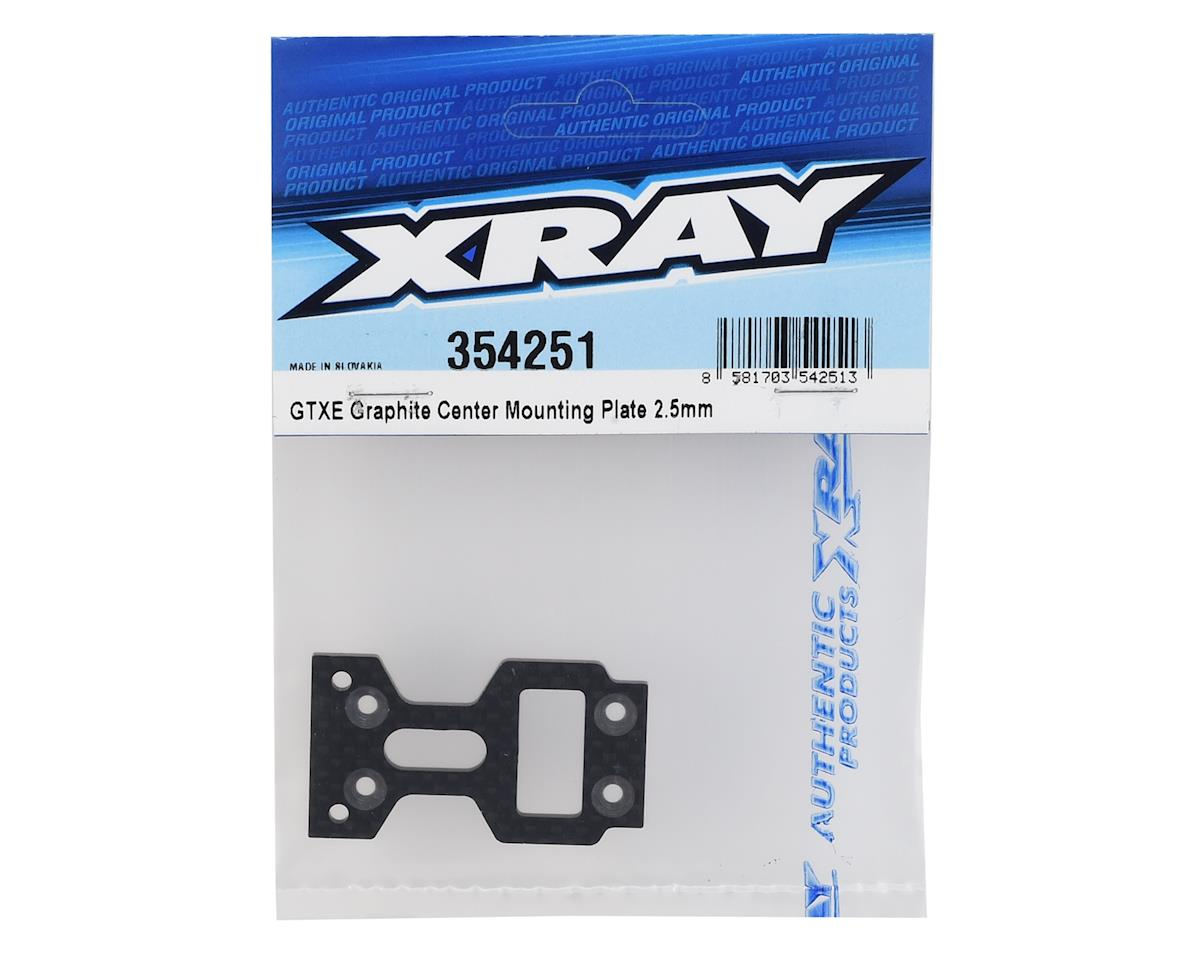 XRAY 2.5mm GTXE Graphite Center Mounting Plate
