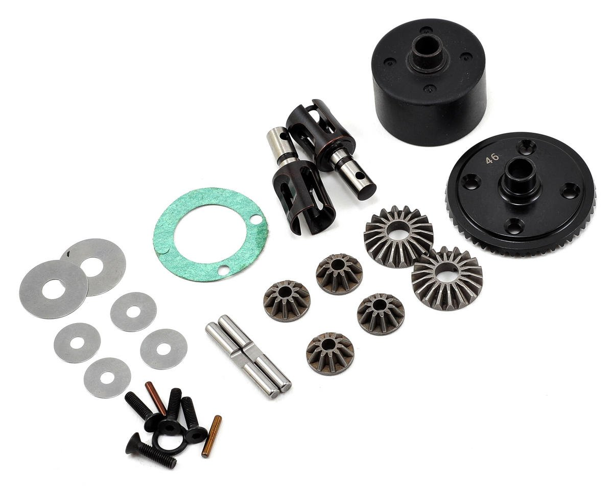XB8 Front/Rear Differential Set by XRAY