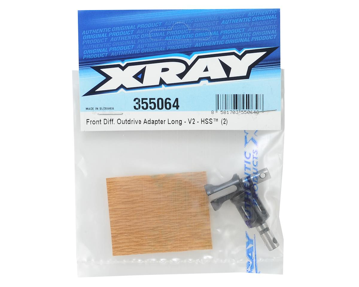 XRAY V2 Long Front Differential Outdrive Adapter (2)