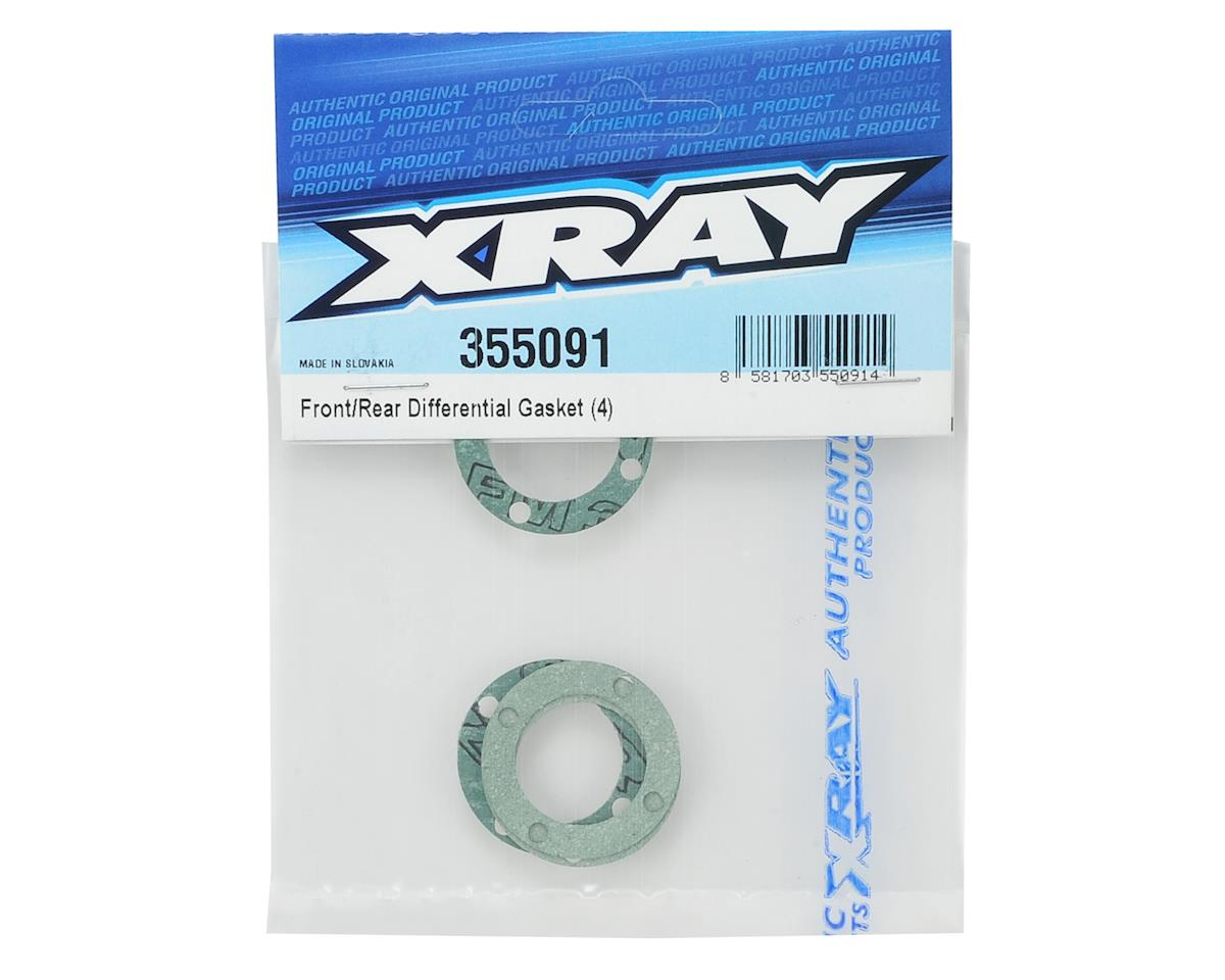 Front/Rear V2 Diff Gasket (4) by XRAY