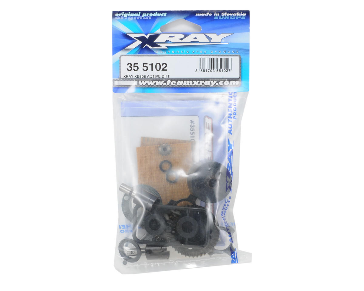 XRAY XB808 Active Diff