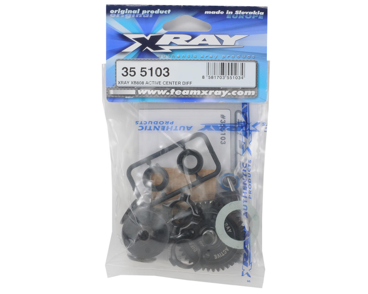 XRAY Active Center Differential (XB808)