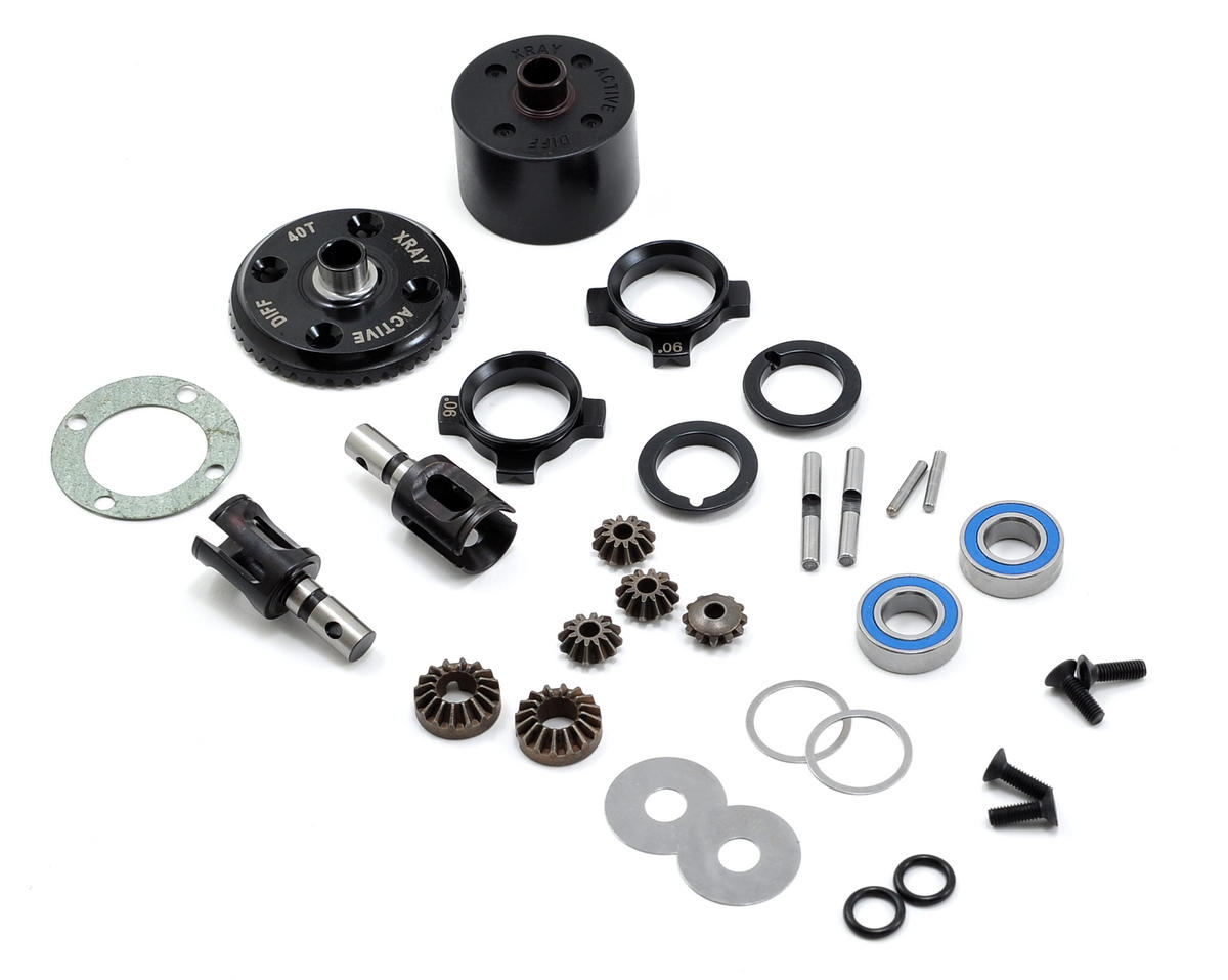 XRAY XB9 Active Differential