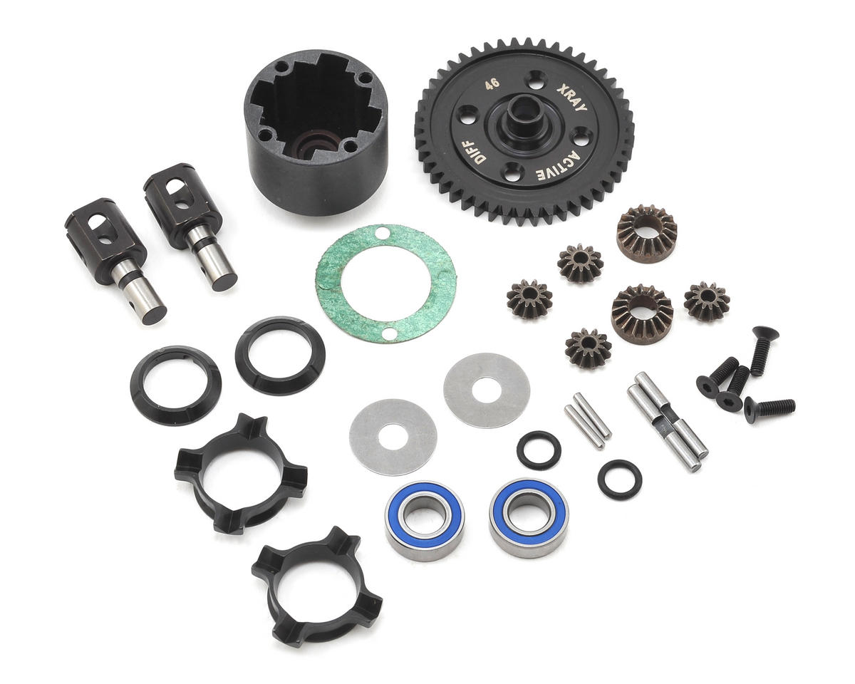 XRAY XB8 Active Center Differential (46T)