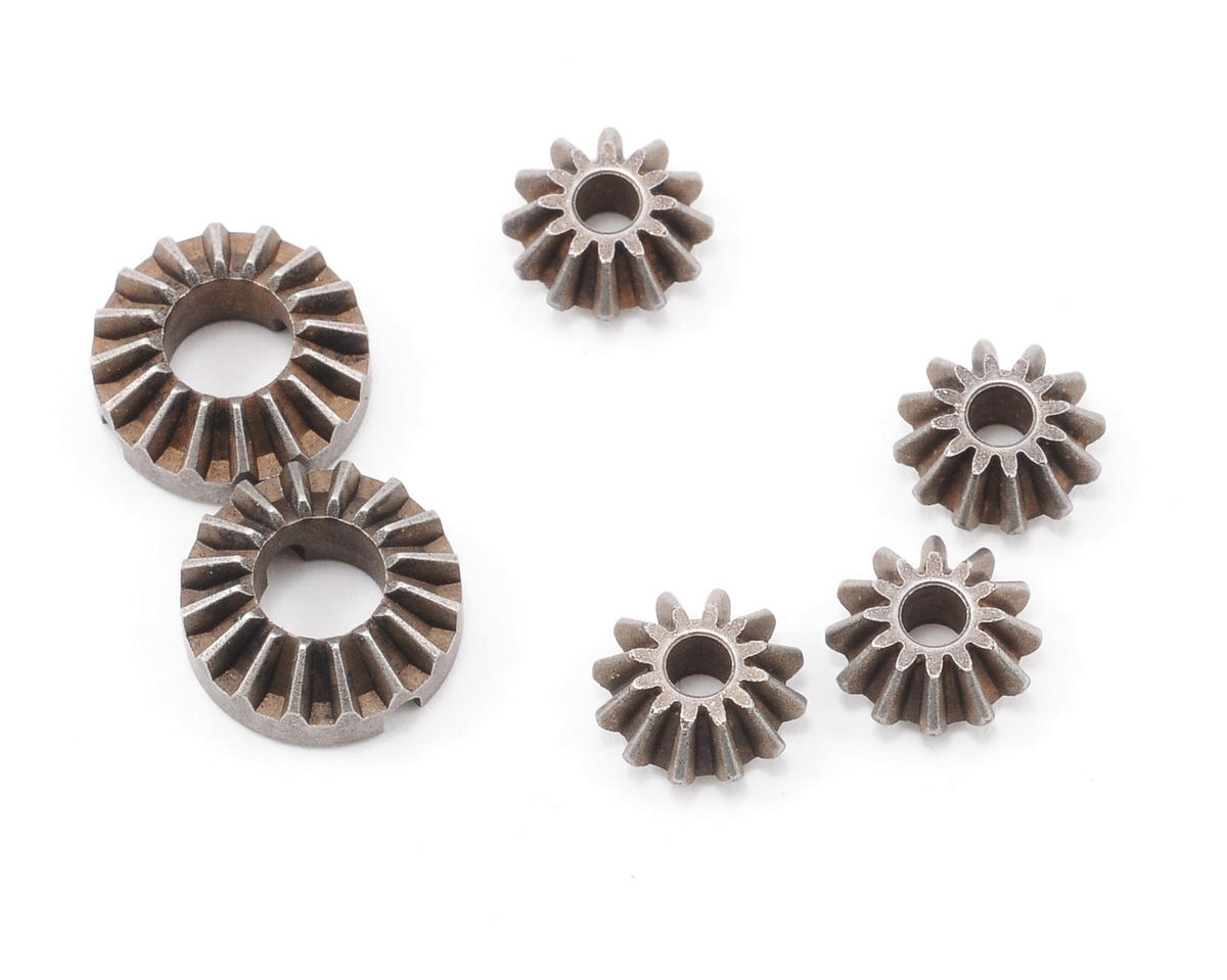 XRAY Active Differential Steel Bevel & Satellite Gears (2+4)