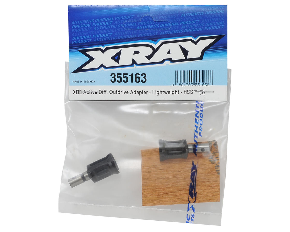 XRAY Active Differential Lightweight Outdrive Adapter (2)