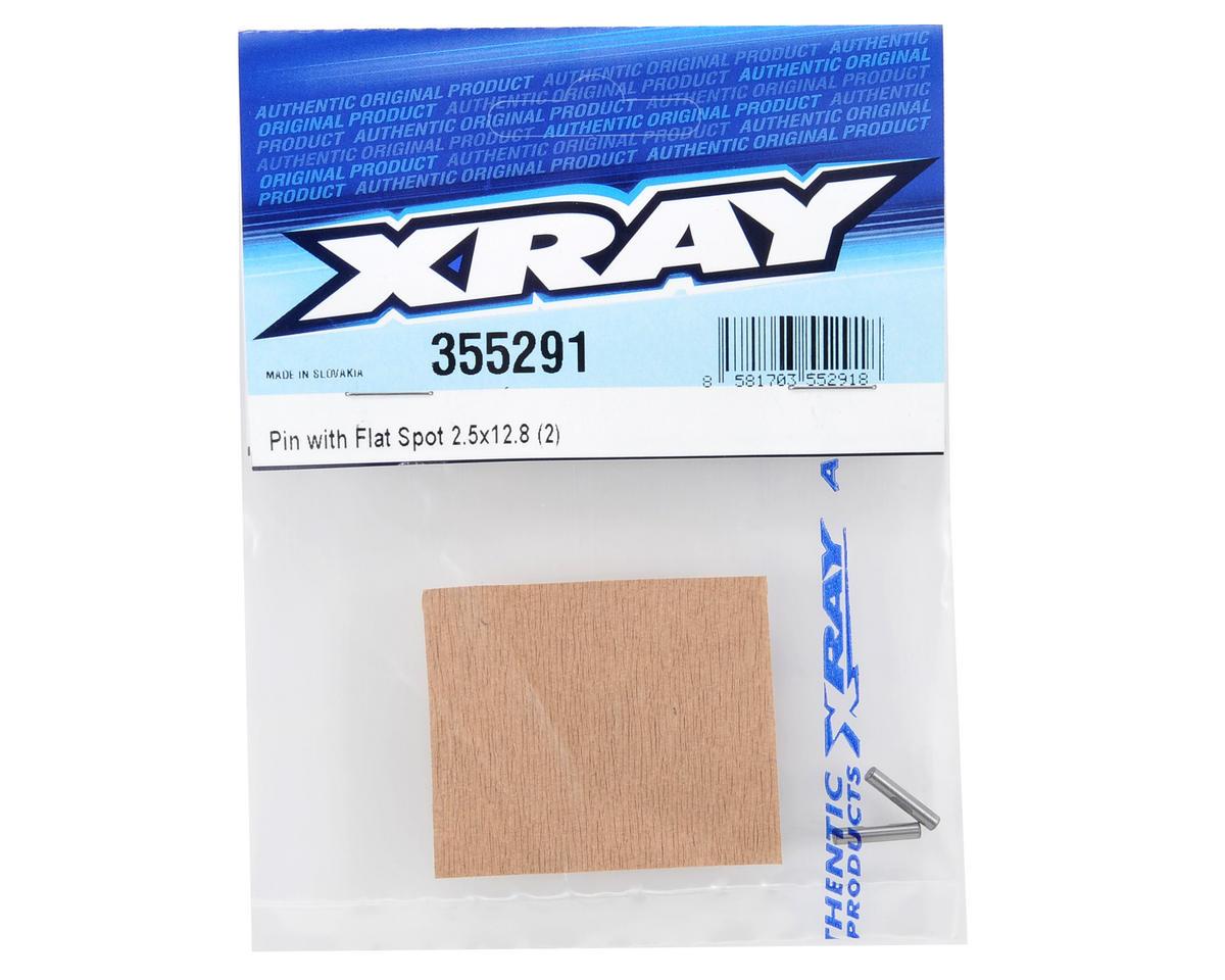XRAY 2.5x12.8mm Pin w/Flat Spot (2)