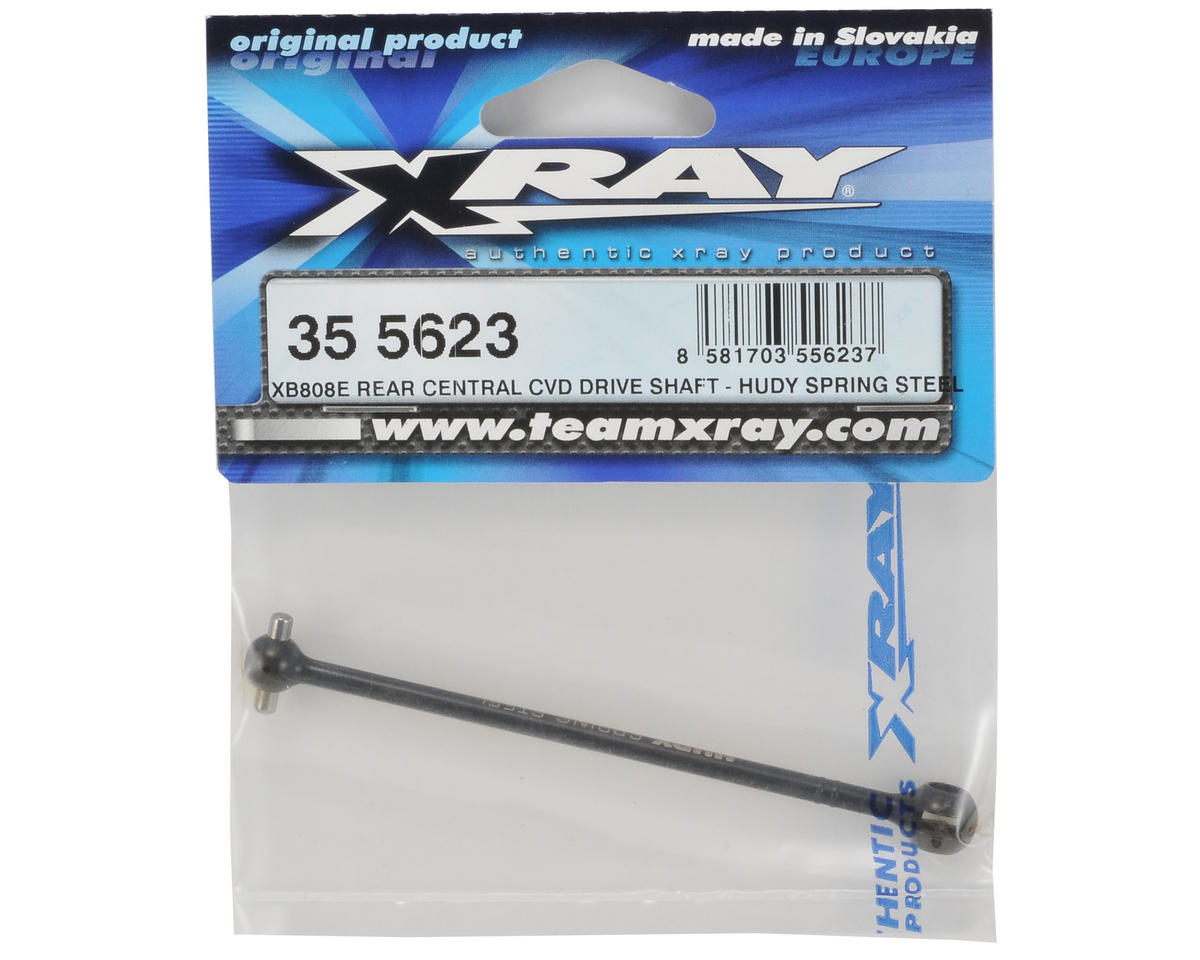 XRAY Hudy Spring Steel Rear/Center CVD Driveshaft (XB808E)