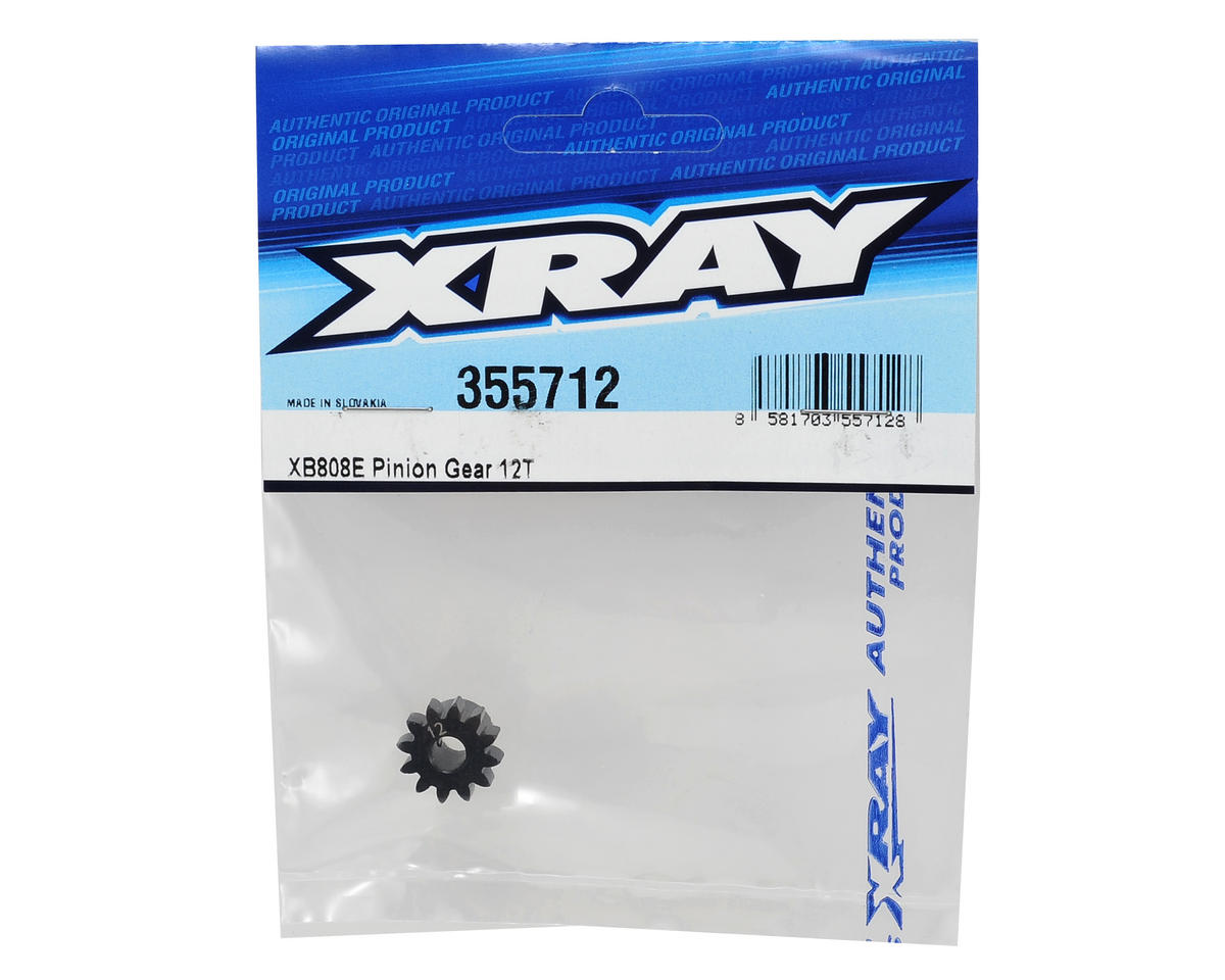 XRAY Mod1 Steel Pinion Gear w/5mm Bore (12T)