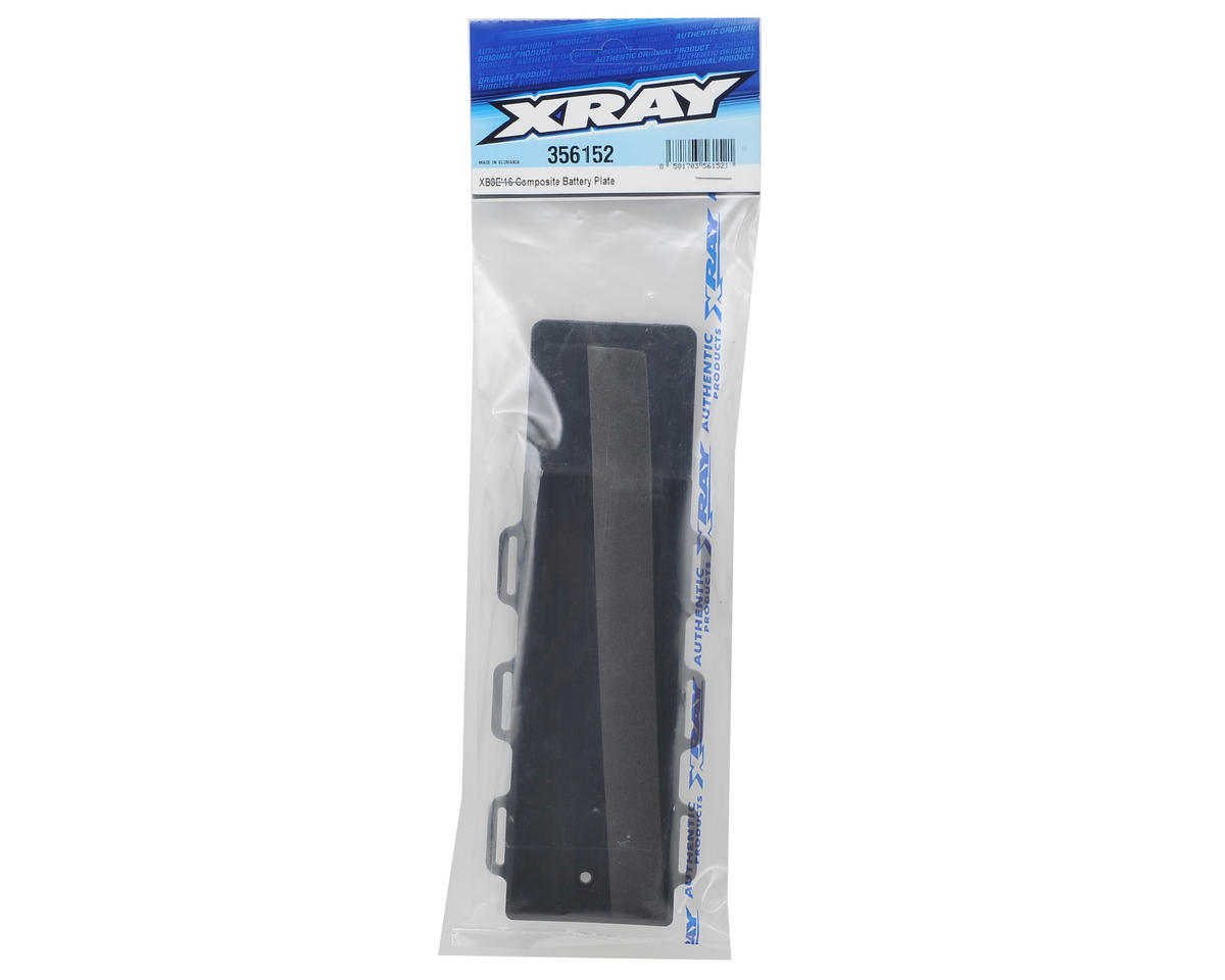 XRAY XB8E 2016 Composite Battery Plate