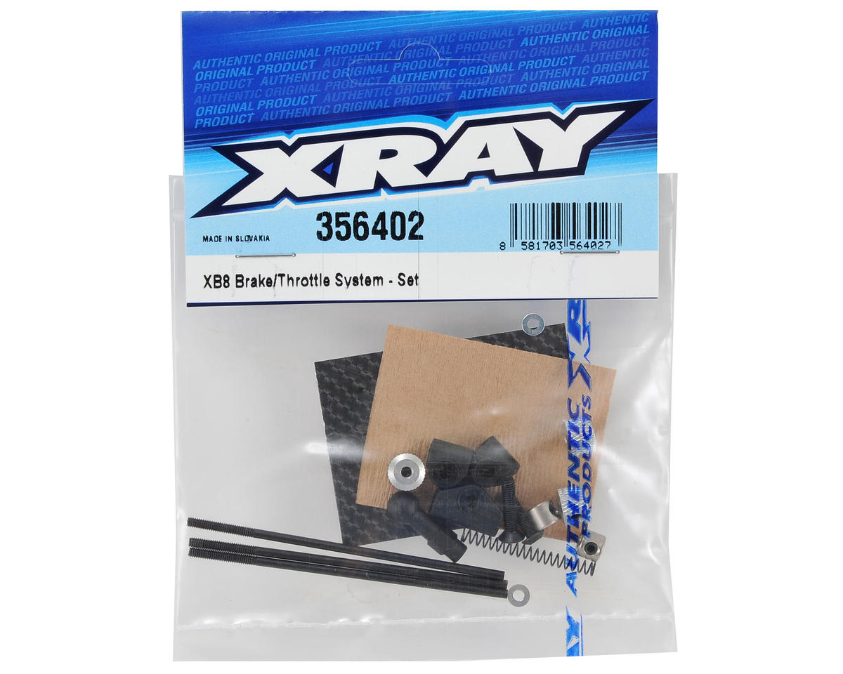 XRAY XB8 Brake/Throttle Set