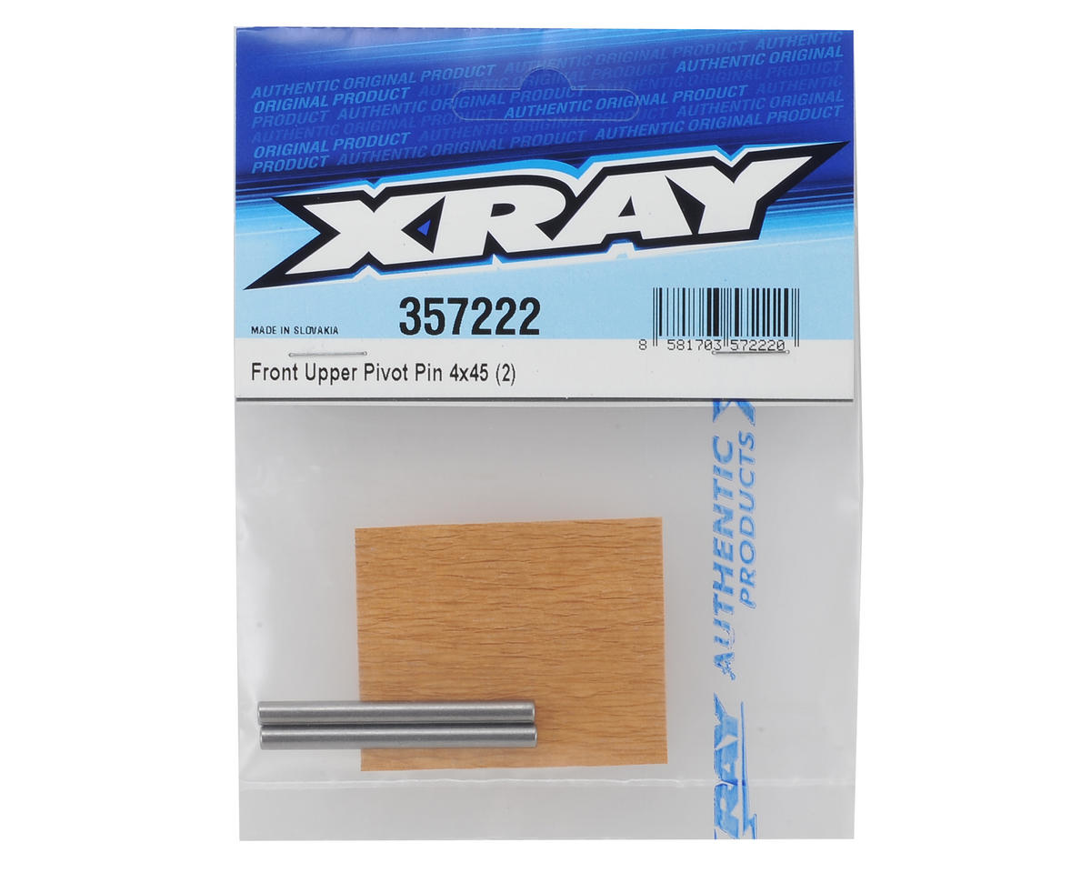 XRAY XB8 2016 4x45mm Front Upper Pivot Pin (2)