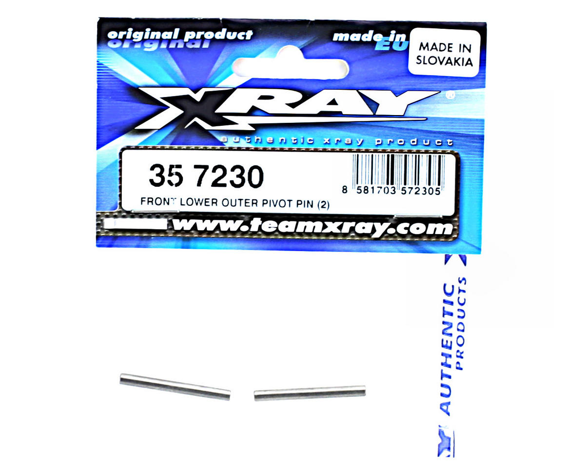 XRAY Front Lower Outer Pivot Pin (2)