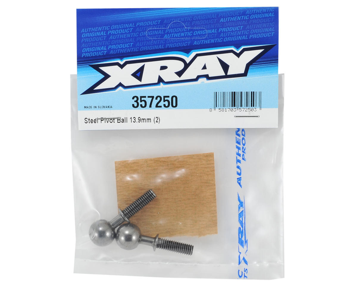 XRAY 13.9mm Steel Pivot Ball (2)