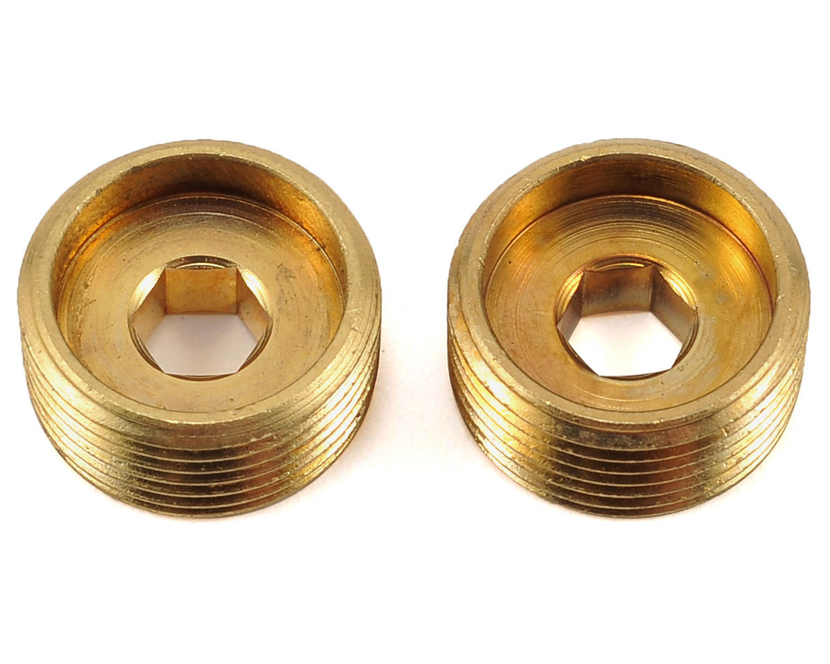 XRAY XB8E 2016 15x1mm Brass Adjusting Nut (2)